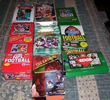 (100) Football Cards in Sealed Packs 20 years old or older!!