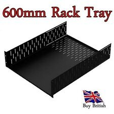 "2U 19"" Deep Rack Tray ( 600mm ) for Servers, Amps, Projects,etc"