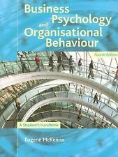 Business Psychology and Organisational Behavior : A Student's Handbook by...