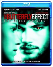 THE BUTTERFLY EFFECT (Director's Cut)  -  Blu Ray -  Region free