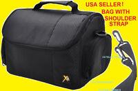 MEDIUM CASE BAG : CAMERA CANON REBEL T6i T5i T4i T3i T2i T1i XTi T3 XSi SLR DSLR