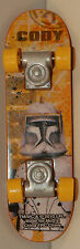 "2010 Commander Cody #7 Skateboard 4"" Finger Board McDonalds Star Wars Clone"