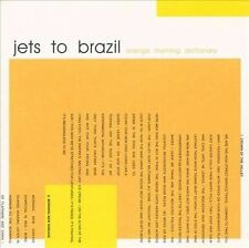 DAMAGED ARTWORK CD Jets to Brazil: Orange Rhyming Dictionary