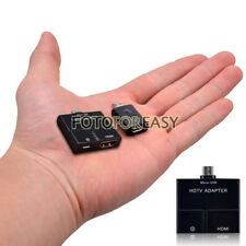 NEW 5 Pin Micro USB MHL To HDMI HDTV Adapter /5Pin Female To 11 Pin Male Adapter