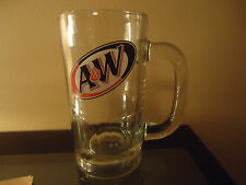 A&W Root Beer ~ Restaurant Glass Stein Cup Mug ~ Advertising