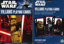 STAR WARS Sci-Fi Movie Lucas Films CHARACTER VILLAINS Single Deck PLAYING CARDS