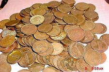 Lot of 100 Vintage LARGE NAMCO 2000 Arcade Brass PACMAN Video Game Coin Tokens