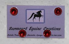 Horse Show Number Magnets - Red - Saddleseat, Hunt Seat, Western