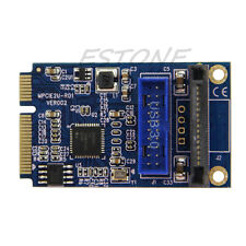 Mini PCI-E to USB Adapter / PCIE to 19Pin SATA Dual USB3.0 Mini Expansion Card