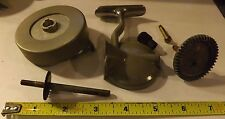 Lot Vintage New Old Stock SWISS FIX-REEL SPINNING Fishing REEL parts Left hand