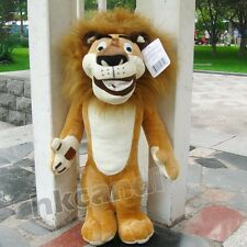 Lovely Madagascar yellow lion Alex stuffed Animals stuffed toys 25CM Soft toy