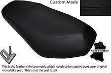 BLACK STITCH CUSTOM FITS CPI ARAGON 125 50 DUAL LEATHER SEAT COVER ONLY