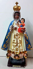 STATUE -Virgen De Regla / Virgin Of Regla SCULPTURE 12 Inch 6275-12 BRAND NEW