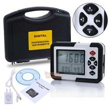 9999ppm Carbon Dioxide CO2 Monitor Detector Temperature Humidity Logger Meter