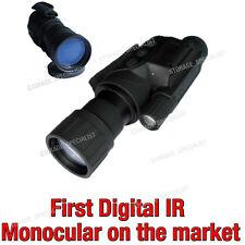 Master Digital NV Night Vision Goggles Monocular Security Camera IR Gen Tracker