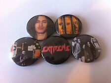 5 Extreme button badges 25mm More Than Words Pornograffitti Get The Funk Out