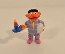 "2.5"" Bedtime Ernie in Pajamas Applause PVC Action Figure Sesame Street Workshop"