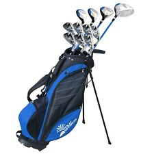 Palm Springs GOLF Visa v2 DA UOMO MANO DESTRA Grafite/Acciaio Golf Club Set con borsa