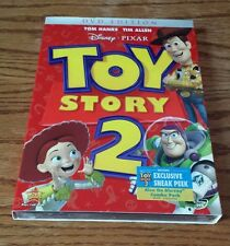 Toy Story 2 (DVD, 2010) Disney Pixar Woody Buzz Lightyear John Lasseter OOP NEW