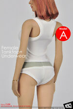 1:6th Action Figure MCTOYS Female Tanktop + Underwear Set F-059