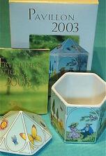 Hutschenreuther Gazebo Lattina Porcellana 2003 - Prima edizione il Serie
