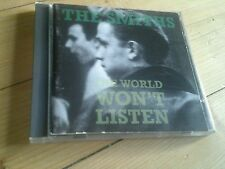 THE SMITHS - World Won't Listen  cd  rough trade