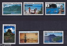 RC002782 POLYNESIE n° 97 / 102 - PAYSAGES SERIE COURANTE MNH NEUF **