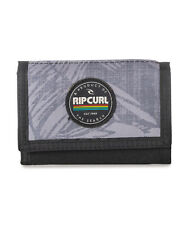 RIP CURL MENS WALLET.NEW PRINT SURF GREY CREDIT CARD COIN MONEY PURSE 7S UBH4 80