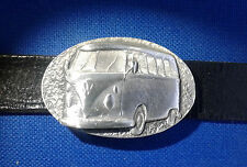 Belt Buckle VW Camper V Dub Air Cooled Car Motor Van FREE UK POST