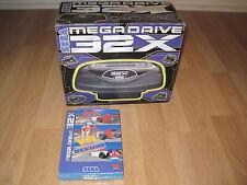 Console Sega Megadrive 32X PAL complète en BOITE ET NOTICE + Virtua Racing 32X
