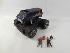 WORKING M.A.S.K. VOLCANO ELECTRONIC VEHICLE W/JAQUES LAFLEUR MATT TRAKKER KENNER