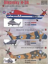 Print Scale Decals 1/72 SIKORSKY H-34 Helicopter Part 2