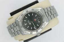 Tag Heuer 2000 Classic SS Professional WK1115.BA0311 Watch Mens RARE GRAY MINT