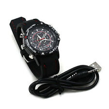 8GB Waterproof  Watch Video Recorder-Hidden Spy Camera HD Camcorder DVR 1280x960