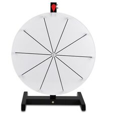 "Editable 16"" Prize Wheel Dry Erase Fortune Trade Show Carnival Spin Game"