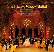 OPERA LP HIGHLIGHTS MERRY WIDOW BALLET FRANZ LEHAR ADELAIDE SINGERS