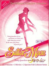 SAILOR MOON (SEA.1-5 + 3 MOVIES + 2 SPECIAL) DVD COMPLETE SERIES *ENG VER & SUB*