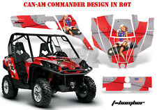 AMR Racing DECORO GRAPHIC KIT UTV CAN-AM Commander, Maverick T-Bomber B