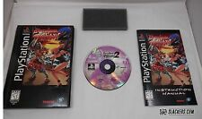 Battle Arena TOSHINDEN 2 (Sony PlayStation 1) COMPLETE LongBox PS1 Fighting PSX