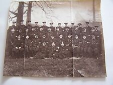 Large Vintage Photograph Group Policemen in Uniform Police