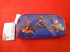 Mario Kart Nintendo Wii Pencil Case *NEW*  Supply Carrier Storage Yoshi Luigi