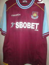 West Ham 2011-2012 Home Squad Signed Football Shirt with COA /19742