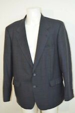 YVES SAINT LAURENT YSL VESTE COSTUME SUIT 52 T52 XL BLEU