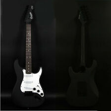 Black+White New Professional High-Grade Basswood 22 Frets Electric Guitar #