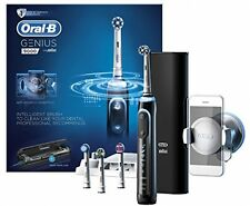 Oral-B Genius 9000 Electric Rechargeable Toothbrush Powered By Braun - Black