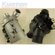 New Electric Engine Water Pump With Thermostat For BMW X3 X5 328I -528i 128i