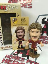CORINTHIAN PROSTARS AS ROMA RUDI VOLLER CG230 GOLD BASE NEW IN WINDOW BOX