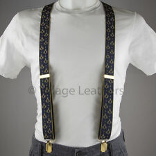 Masonic Gold Braces Suspenders made in England