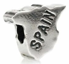 TEDORA SPAIN BEAD AUTHENTIC 925 STERLING SILVER FIT EUROPEAN CHARM BEADS S 010