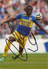 FC CAMBUUR LEEUWARDEN: ELVIS MANU SIGNED 6x4 ACTION PHOTO+COA